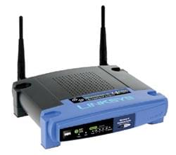 Linksys Routeur WRT54GL - Switch 4 ports/WiFi Cybertek