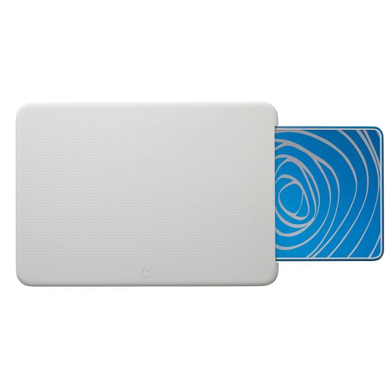 Logitech Comfort Lapdesk N315 Blue Swirl (939-000337 soldé) - Achat / Vente Accessoire PC portable sur Cybertek.fr - 0