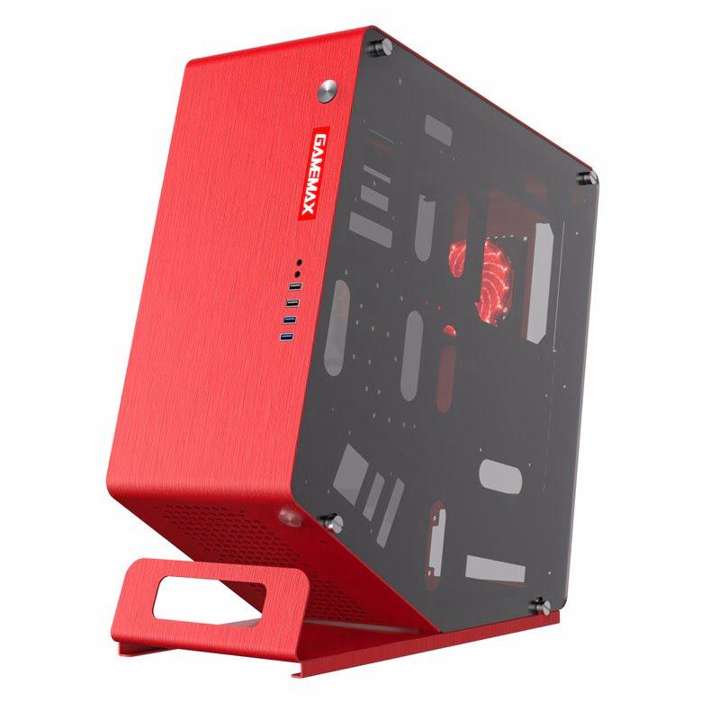 GAMEMAX WinMan RED Rouge - Boîtier PC GAMEMAX - Cybertek.fr - 3
