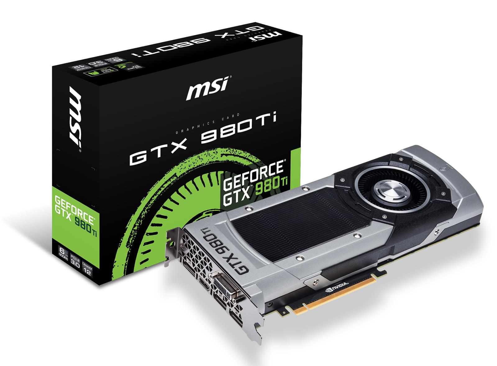MSI GTX 980Ti 6GD5 6Go - Carte graphique MSI - Cybertek.fr - 0