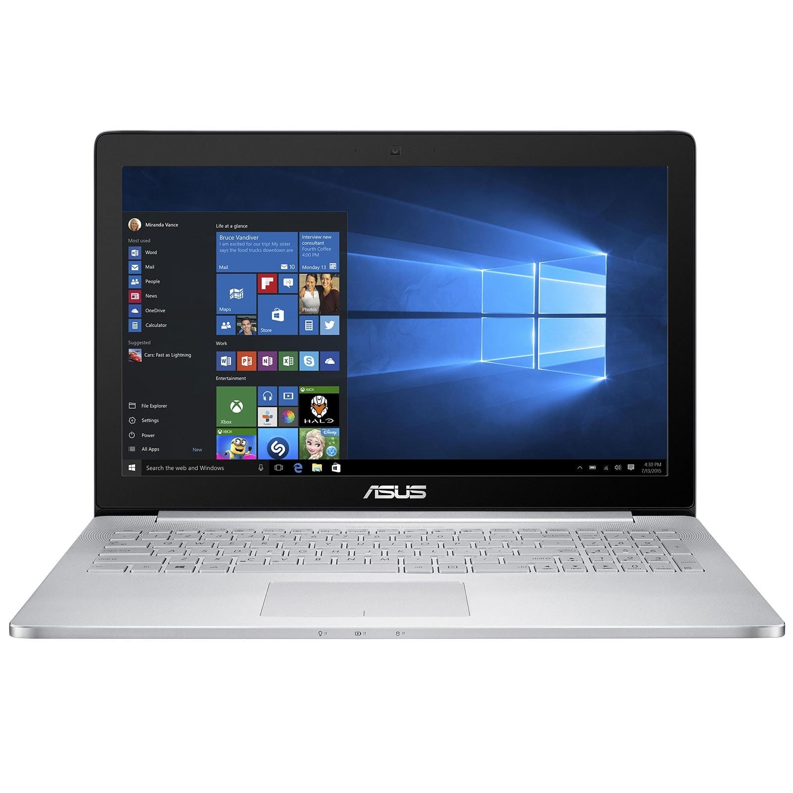 Asus Zenbook Pro UX501VW-FI252R (90NB0AU2-M04890) - Achat / Vente PC Portable sur Cybertek.fr - 1