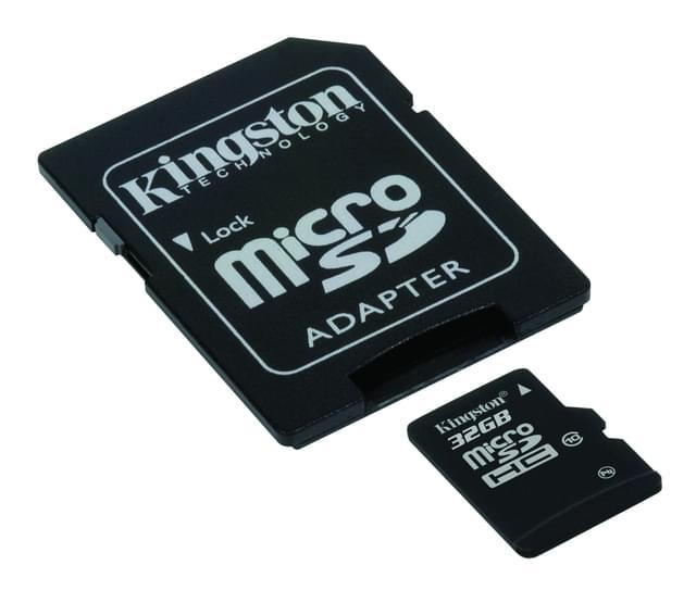 Marque/Marque Micro SDHC 32Go Class 10 + Adapt. (SDC10/32GB) - Achat / Vente Carte mémoire sur Cybertek.fr - 0
