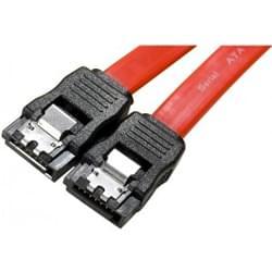 SATA avec clips de fixation - 50cm - Nappe générique - Cybertek.fr - 0