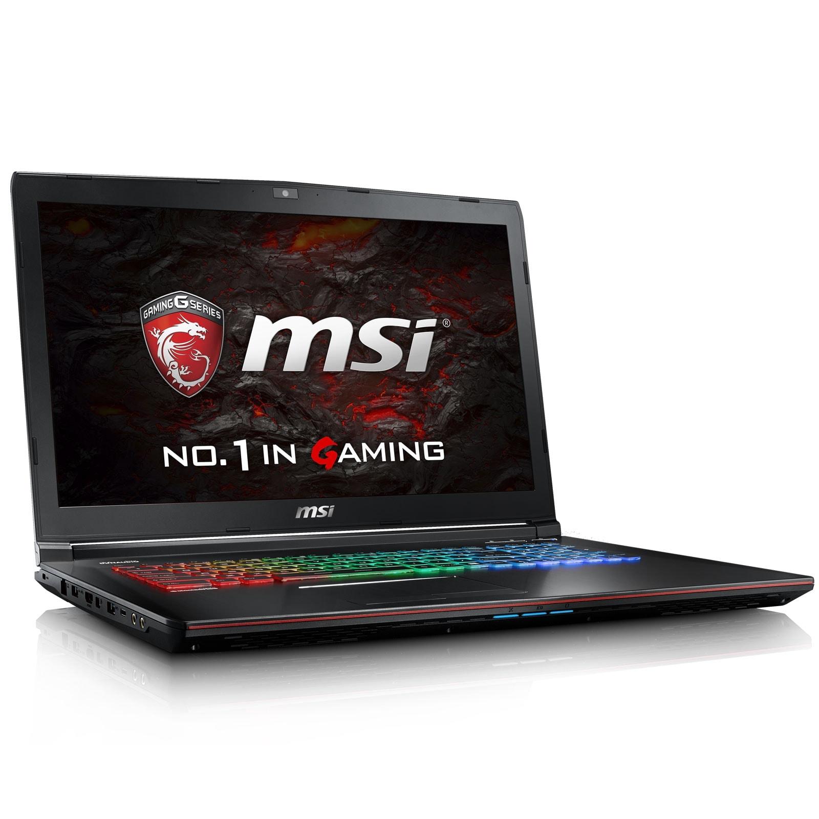 MSI GE72VR 6RF(Apache Pro)-018FR (9S7-179B11-018) - Achat / Vente PC portable sur Cybertek.fr - 0