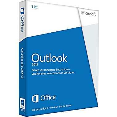 Microsoft Outlook 2013 (543-05751) - Achat / Vente Logiciel Application sur Cybertek.fr - 0