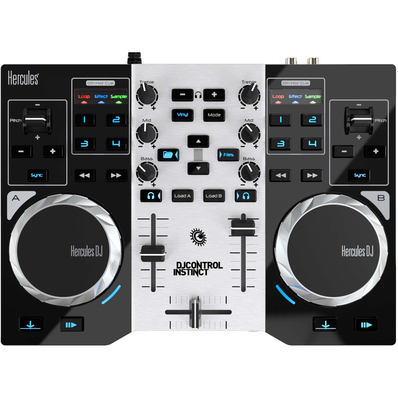 Hercules DJControl Instinct Party Pack - Table de mixage Hercules - 1