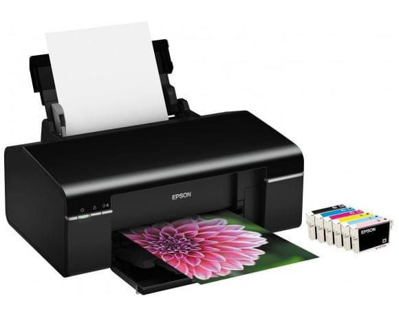 Epson Stylus Photo P50 (C11CA45302) - Achat / Vente Imprimante sur Cybertek.fr - 0