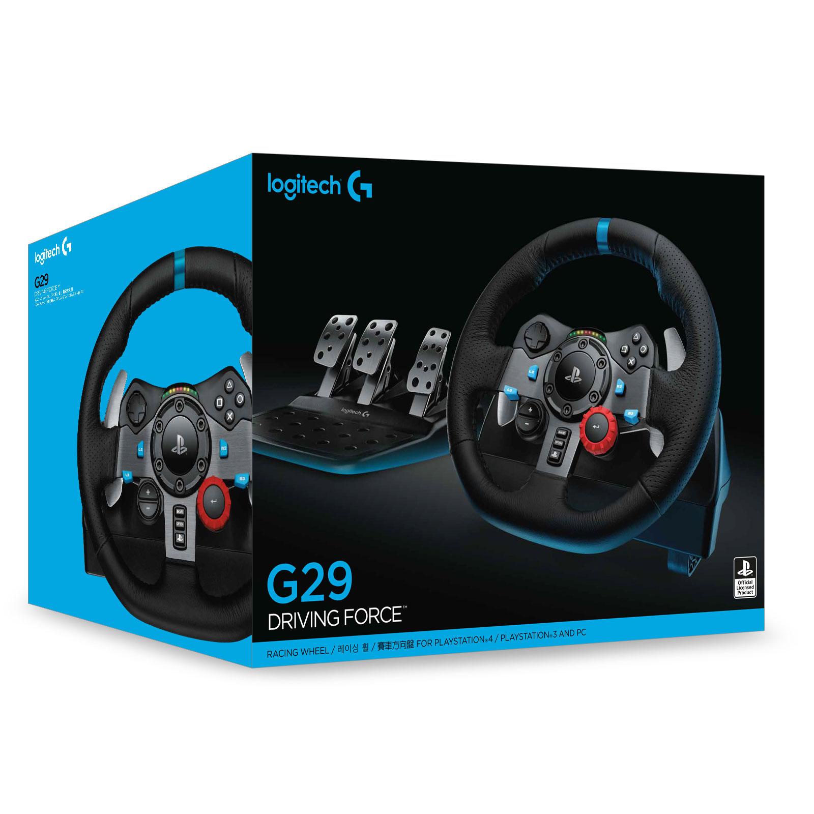 Logitech Volant G29 Driving Force - Périphérique de jeu - 3
