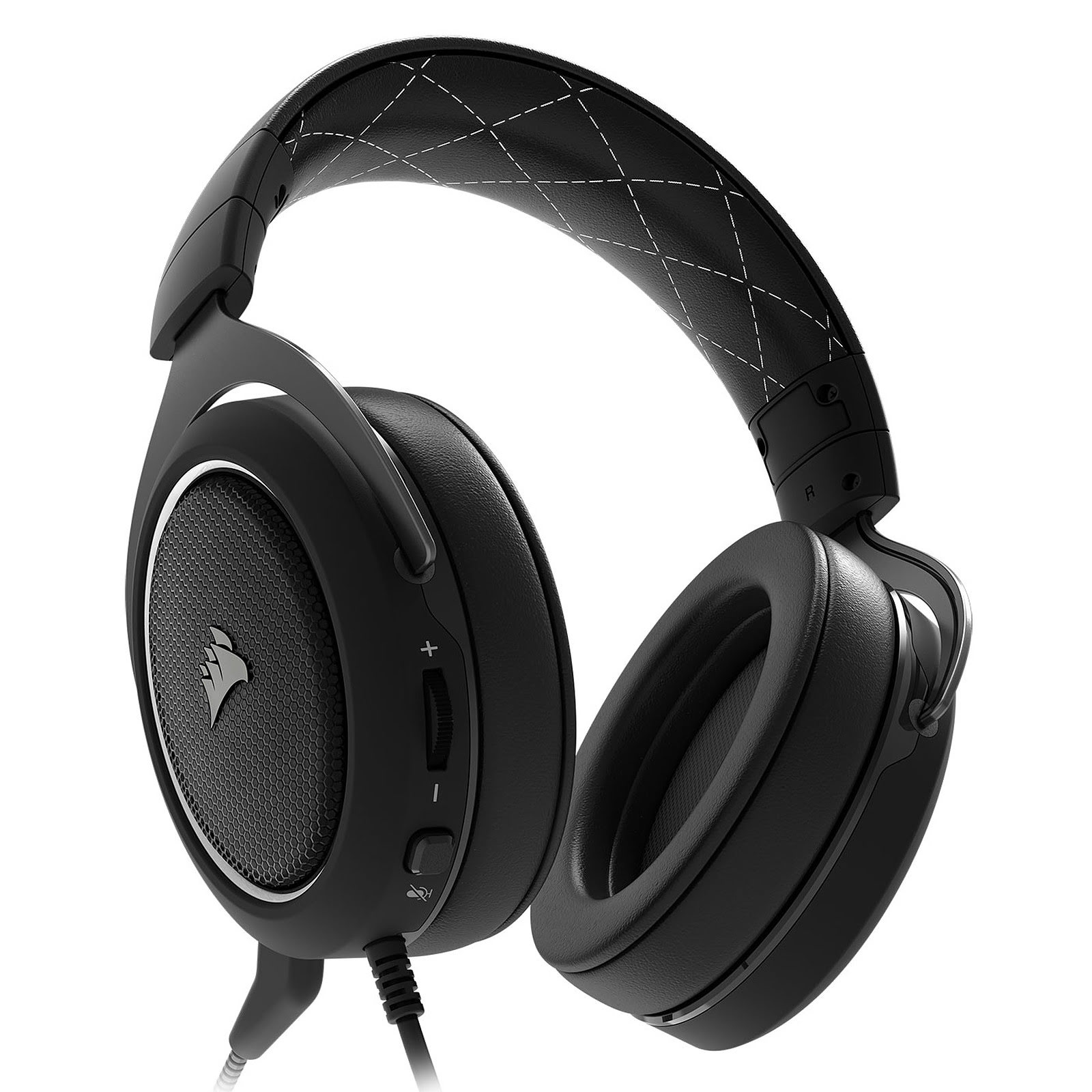 Corsair HS60 Surround White 7.1 Surround Noir - Micro-casque - 1