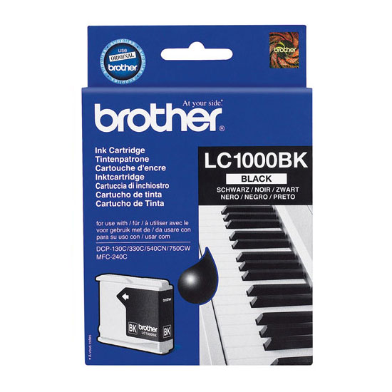 Consommable imprimante Brother Cartouche LC1000BK Black