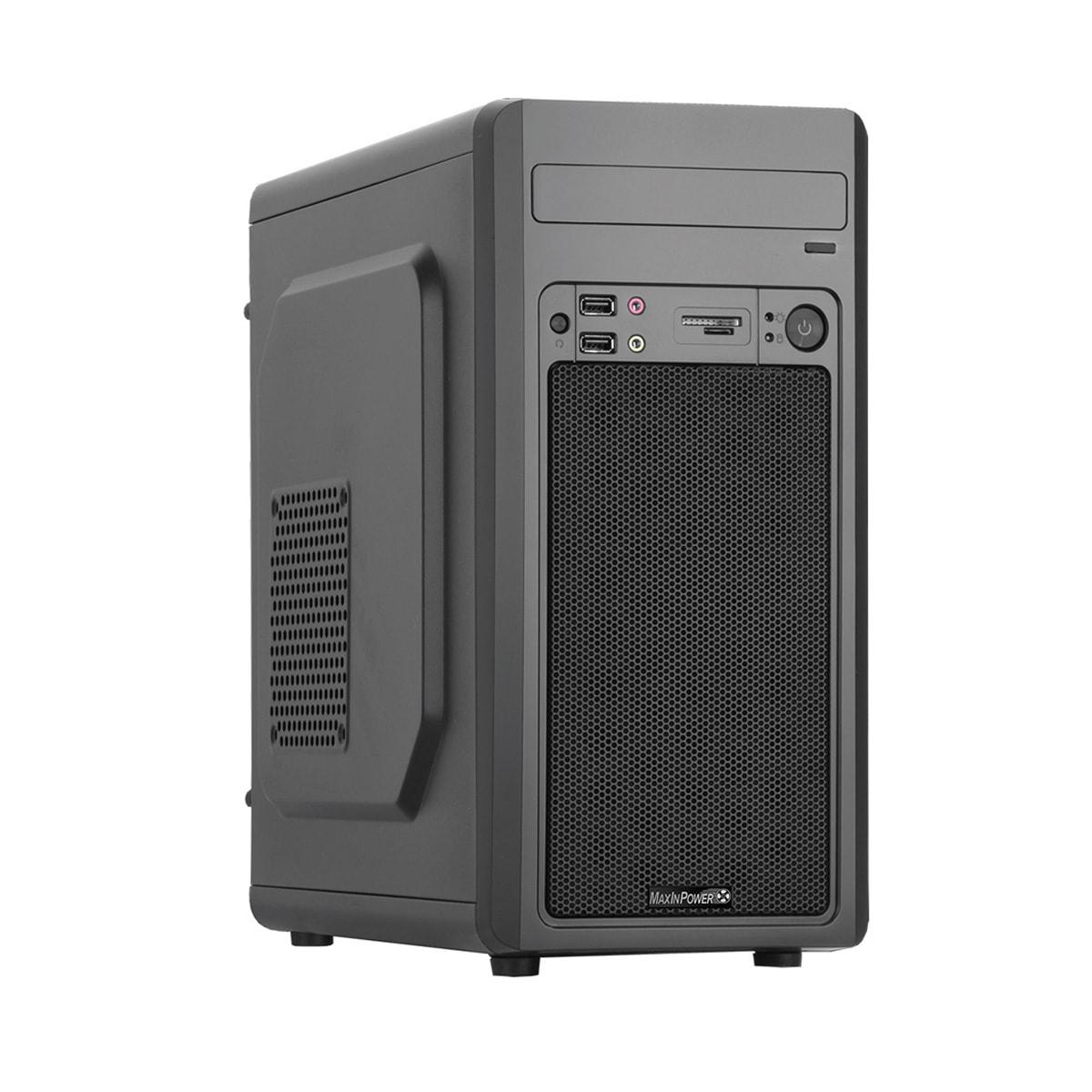 MaxInPower mT/480W/mATX/USB3.0 Noir - Boîtier PC MaxInPower - 0