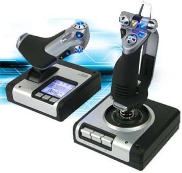 Saitek Joystick X52 - Périphérique de jeu - Cybertek.fr - 0
