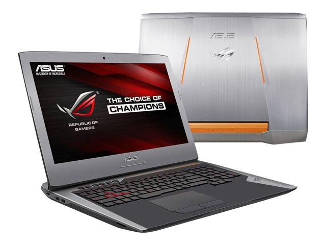 "Asus G752VY-GC094T -i7-6700/16G/512G+1T/GTX980/17.3""/10 (90NB09V1-M00990) - Achat / Vente PC Portable sur Cybertek.fr - 0"