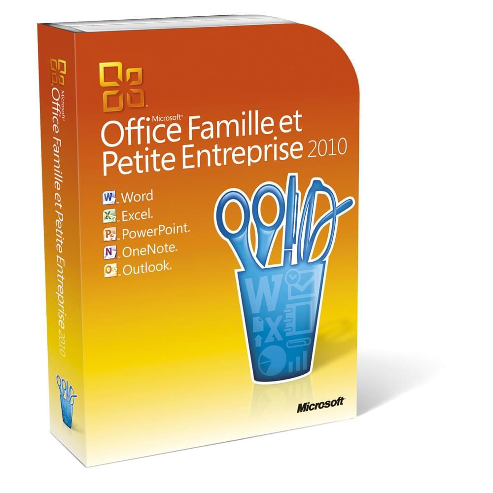 Microsoft Office Famille/Petite Entreprise 2010 Boite (T5D-00162) - Achat / Vente Logiciel Suite bureautique sur Cybertek.fr - 0