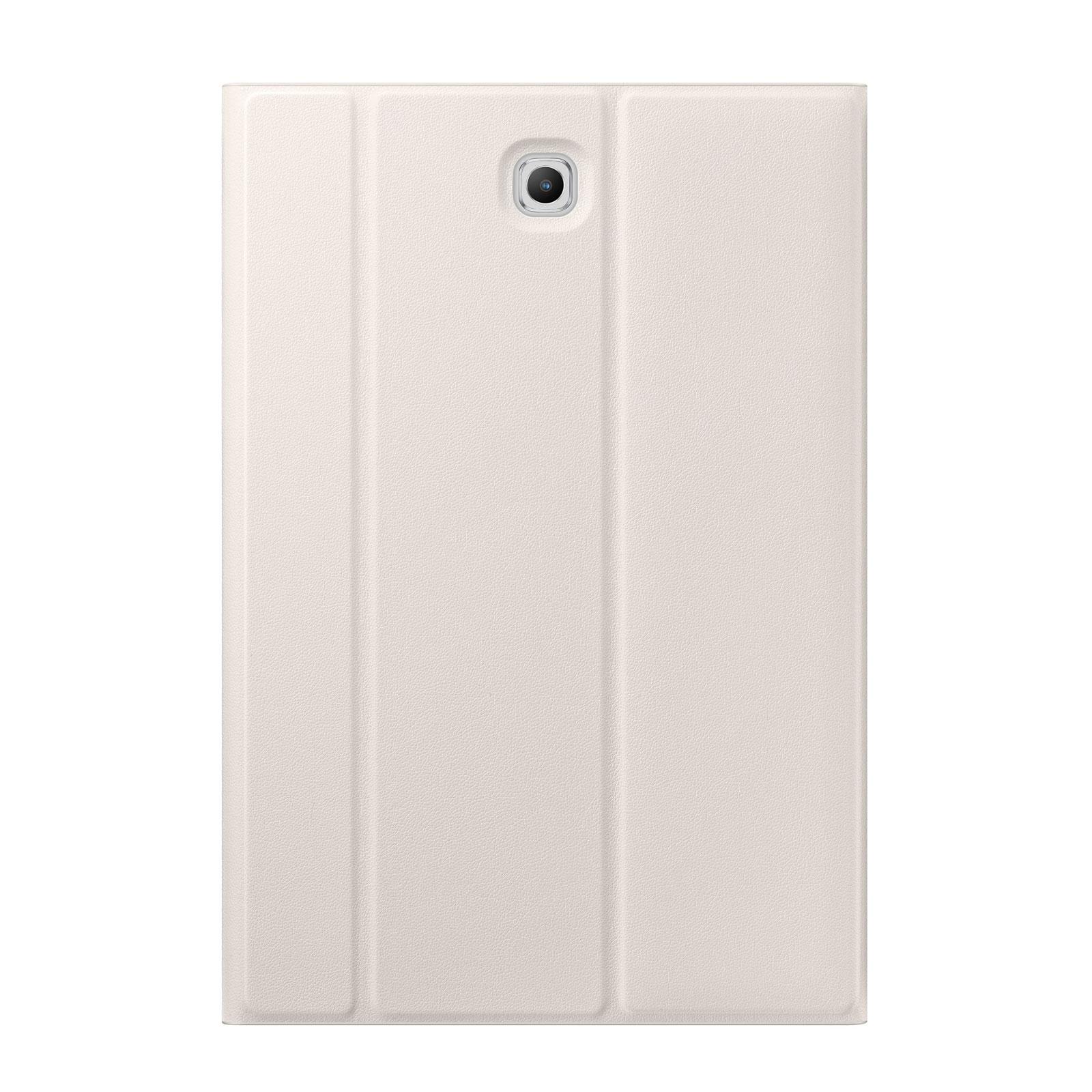 "Book cover blanc Galaxy Tab S2 8"" - EF-BT710P - 1"