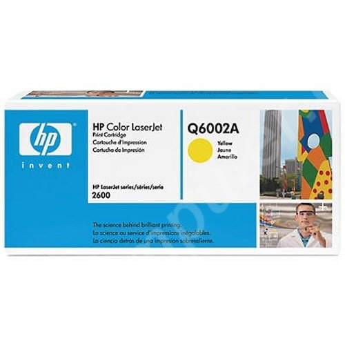 Consommable imprimante HP Toner Q6002A Yellow (LaserJet 2600)