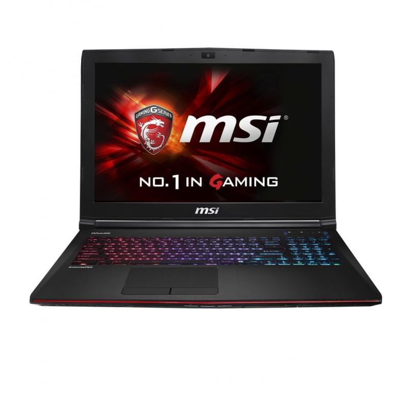 MSI GE62 2QC-287XFR (GE62 2QC-287XFR) - Achat / Vente PC Portable sur Cybertek.fr - 0