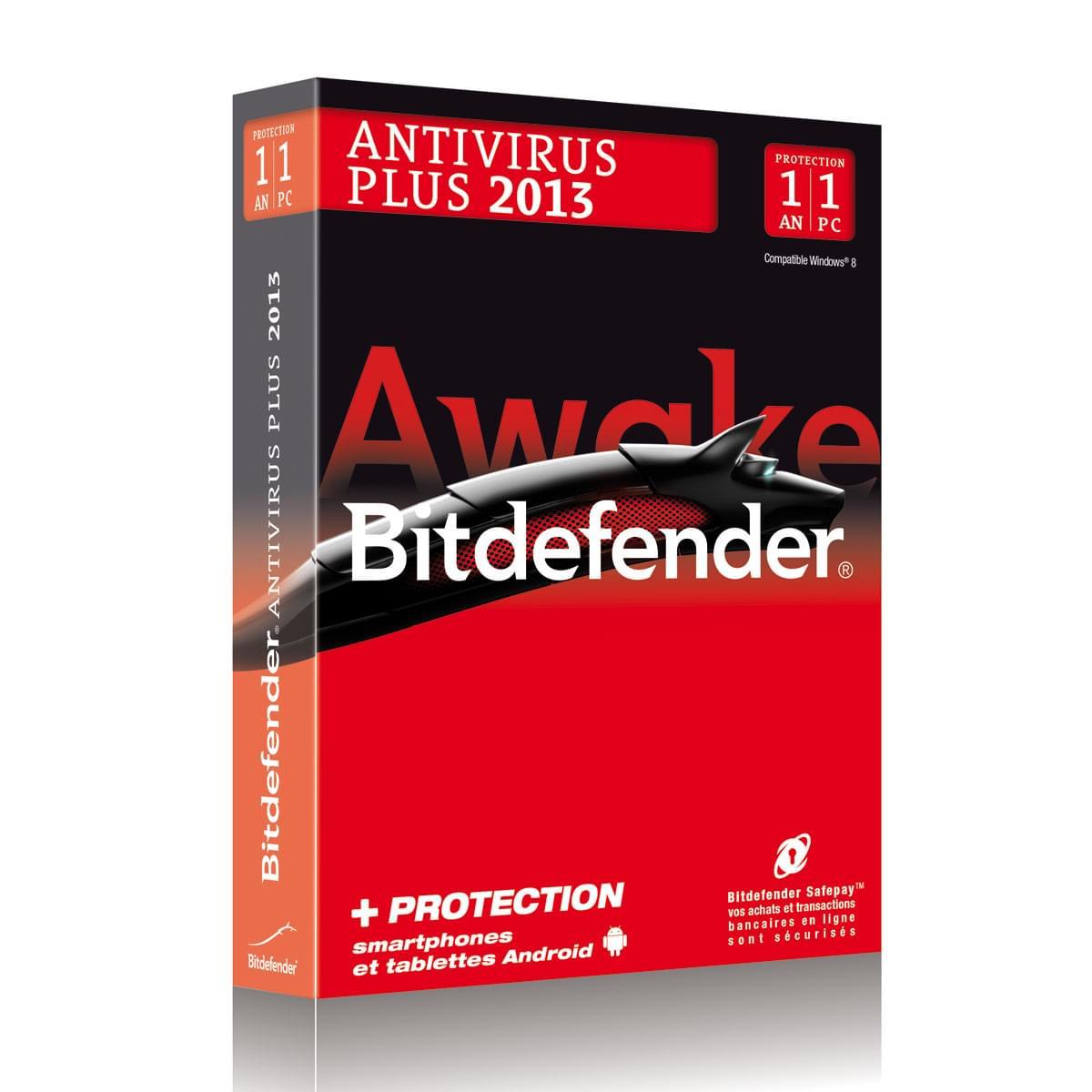 Bitdefender Antivirus Plus 2013 (B-FBDAV-3W1P001) - Achat / Vente Logiciel sécurité sur Cybertek.fr - 0