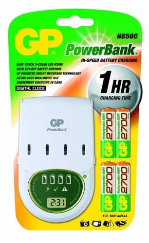 GP Batteries PowerBank H650C 1H (+ 4xAA + Cord. allum. cig.) (202404 soldé) - Achat / Vente Destockage sur Cybertek.fr - 0