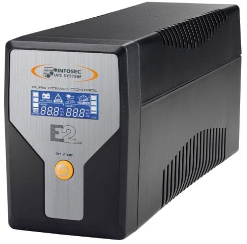 E2 LCD 800 - On-Line - Onduleur Infosec - Cybertek.fr - 0