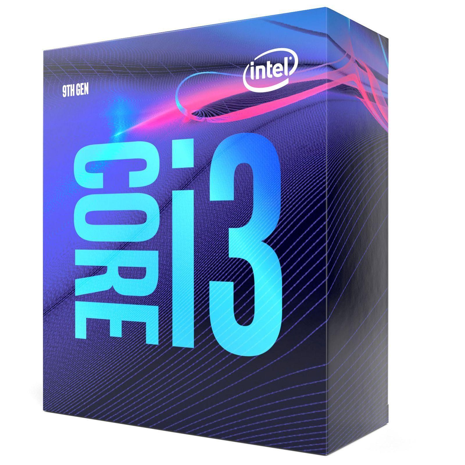 Intel Core i3-9100 - 3.6GHz - Processeur Intel - Cybertek.fr - 1