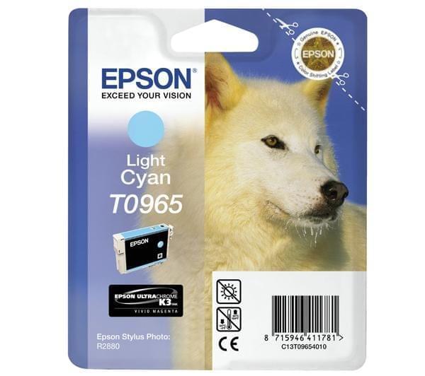 Epson Cartouche d'encre Cyan clair T0965 (C13T09654010) - Achat / Vente Consommable Imprimante sur Cybertek.fr - 0