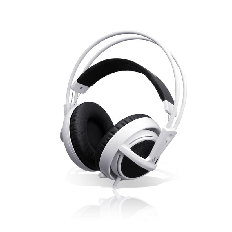 Steelseries Siberia Blanc V2 (81715 / 51100) - Achat / Vente Micro-casque sur Cybertek.fr - 0