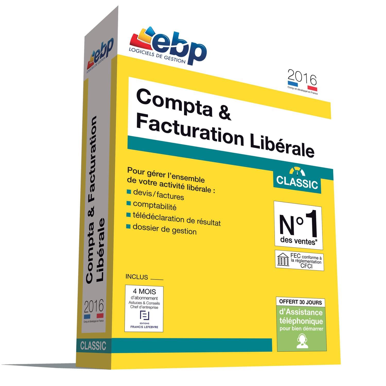EBP Compta & Facturation Libérale OL 2016 + ODR 30 € (1161J080FAA) - Achat / Vente Logiciel application sur Cybertek.fr - 0