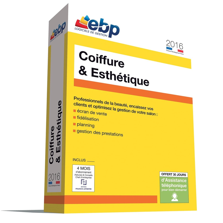 EBP Coiffure et Esthétique 2016 monoposte (1048P200FAA) - Achat / Vente Logiciel Application sur Cybertek.fr - 0