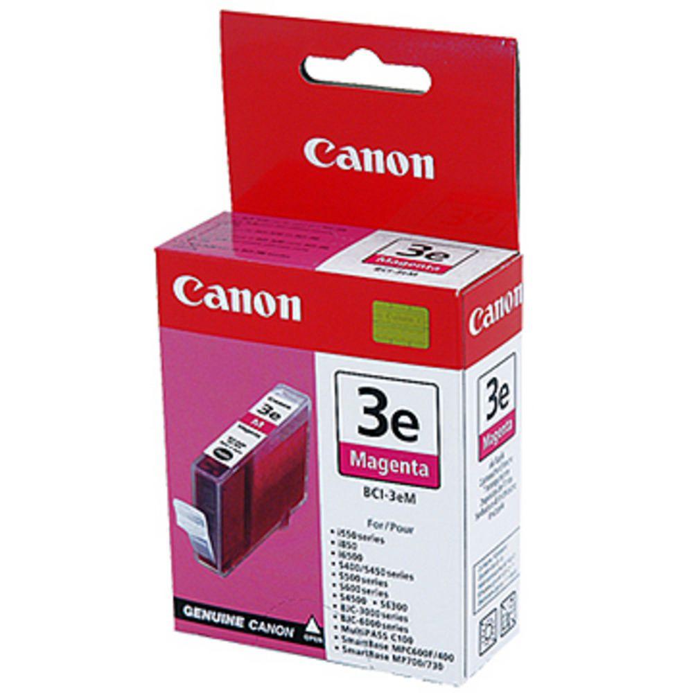 Cartouche BCI 3 E Magenta - 4481A002 pour imprimante Jet d'encre Canon - 0