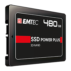 image produit Emtec 480Go SATA III - X150 Power Plus Cybertek