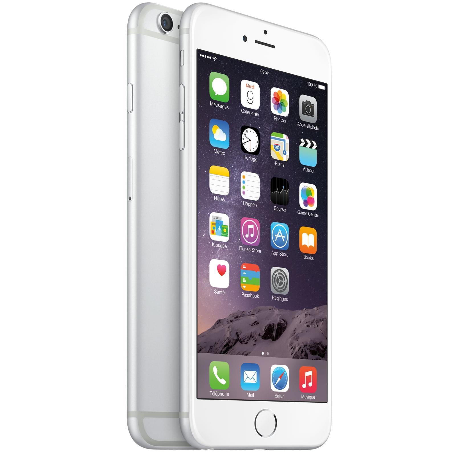 Apple iPhone 6 Plus 16Go Argent (MGA92ZD/A soldé) - Achat / Vente Téléphonie sur Cybertek.fr - 0