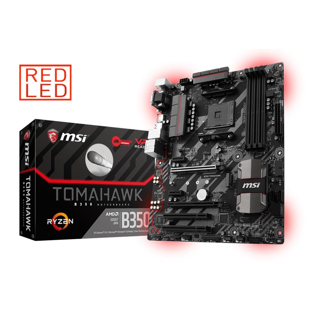 MSI B350 TOMAHAWK ATX DDR4 - Carte mère MSI - Cybertek.fr - 0
