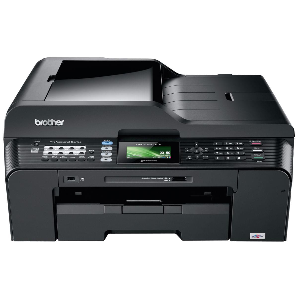 Brother MFC-J6510DW (MFCJ6510DWF1) - Achat / Vente Imprimante Multifonction sur Cybertek.fr - 0