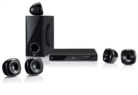 LG Home Cinema 5.1 Blu-Ray HB405SU - Achat / Vente HiFi & Home Cinema sur Cybertek.fr - 0