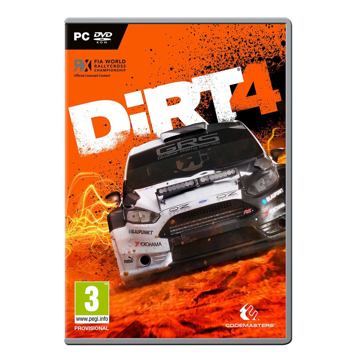 Codemasters DIRT 4 pour PC (79408 ** ) - Achat / Vente Jeux video sur Cybertek.fr - 0