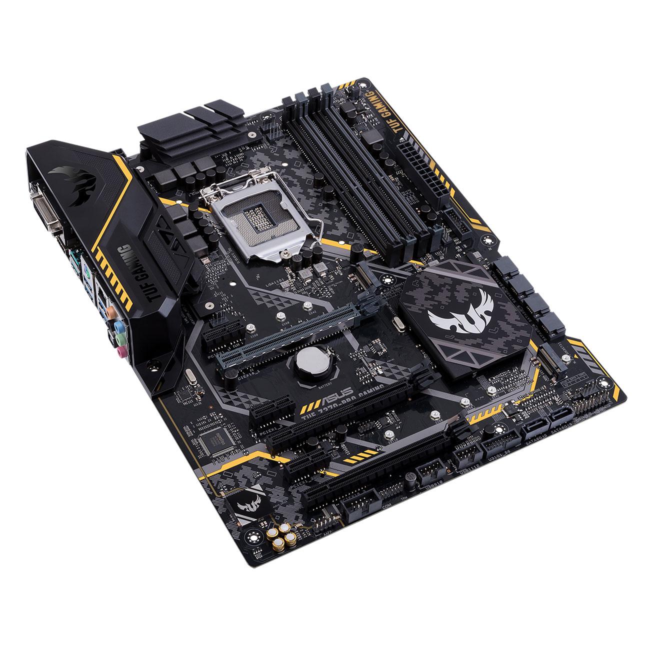 Asus TUF Z370-PRO GAMING ATX DDR4 - Carte mère Asus - Cybertek.fr - 2