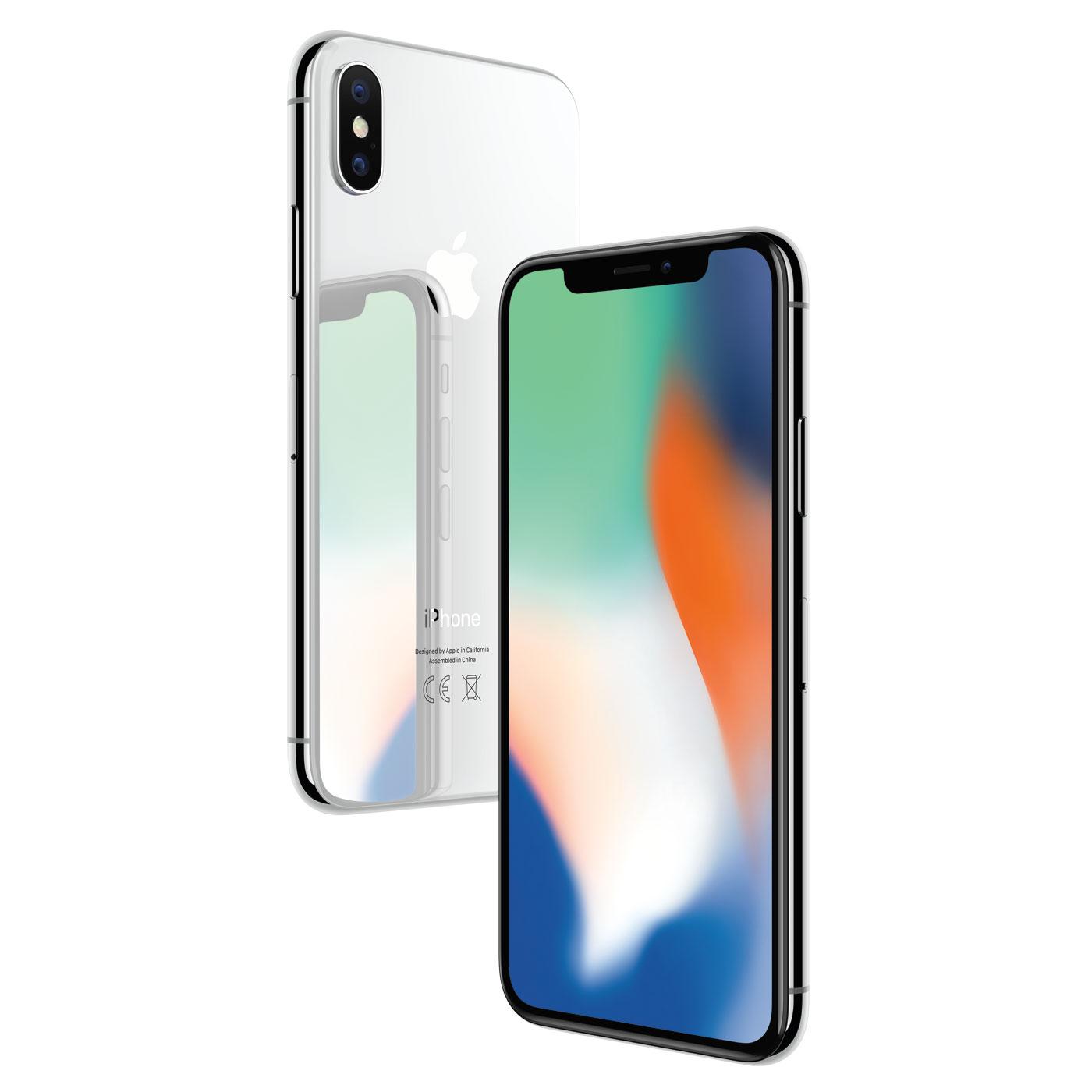 Apple iPhone X 256Go Argent - Téléphonie Apple - Cybertek.fr - 2