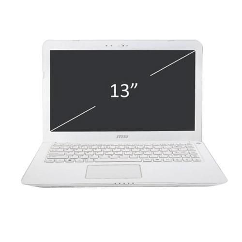 MSI S30 0M-007FR White (S300M-007FR) - Achat / Vente PC Portable sur Cybertek.fr - 0