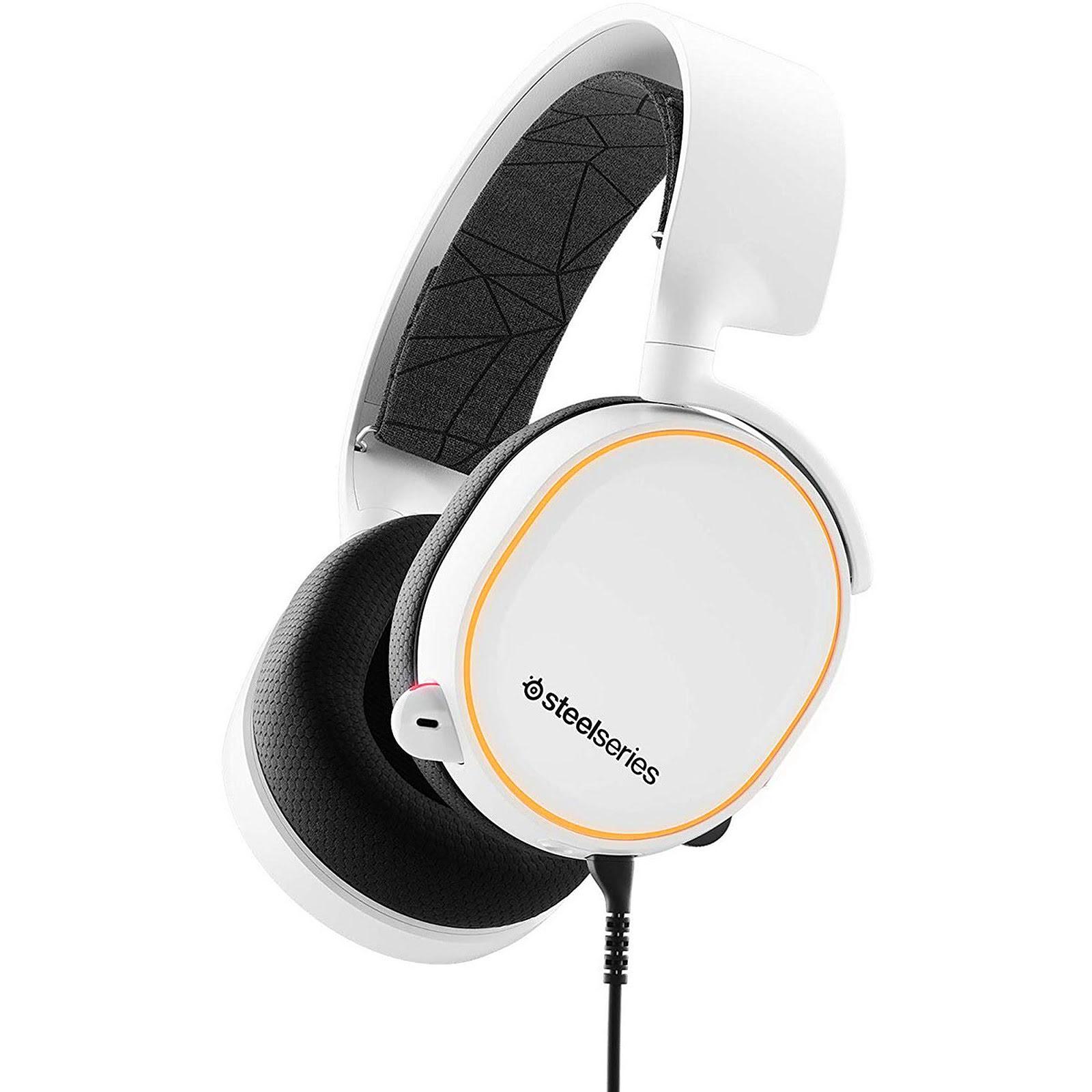 Steelseries Arctis 5 Blanc 7.1 Surround RGB - Micro-casque - 0