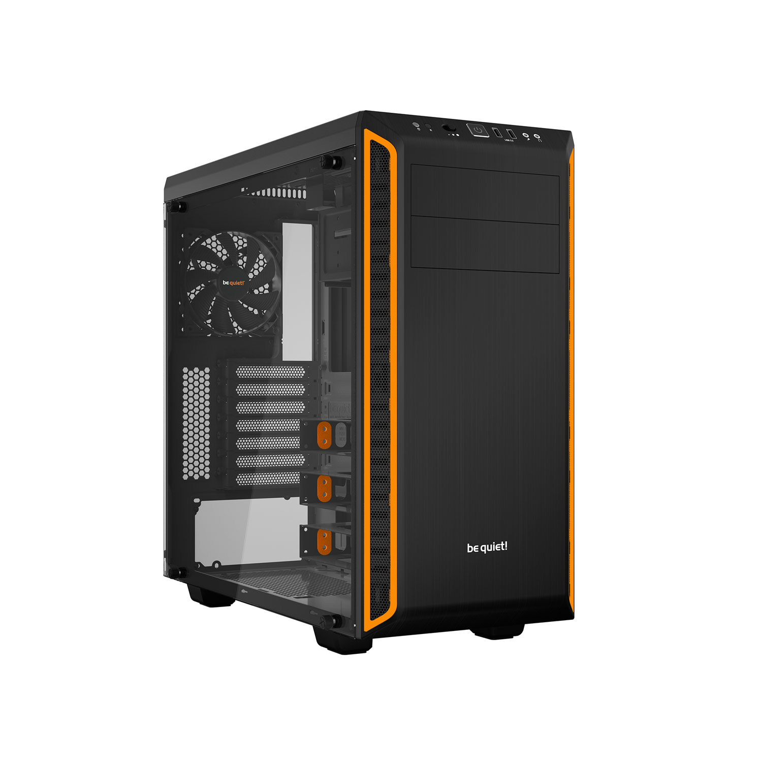 Be Quiet! mT/Ss Alim/ATX Orange - Boîtier PC Be Quiet! - 0
