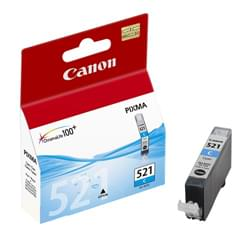 Canon Consommable Imprimante Cartouche CLI-521C Cyan  -  2934B001 Cybertek