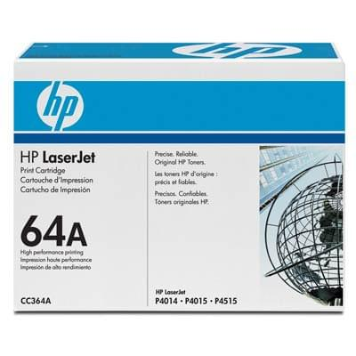 Toner Noir 64A 10000p - CC364A pour imprimante  HP - 0