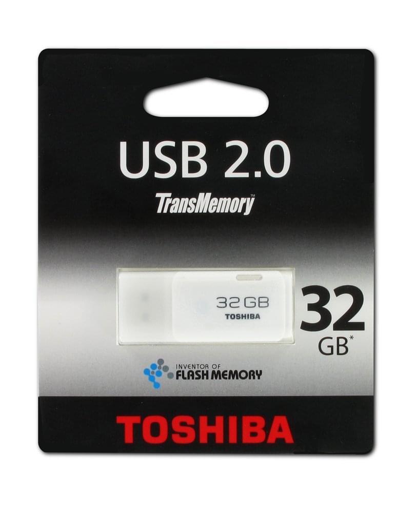 Toshiba Clé 32Go USB2.0 THNU32HAY(BL5 (THNU32HAY(BL5) - Achat / Vente Clé USB sur Cybertek.fr - 0