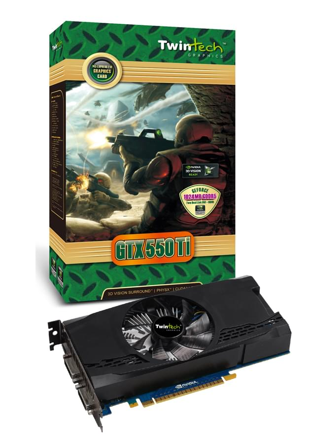 Twintech  - 1Go - carte Graphique PC - GPU  - 0