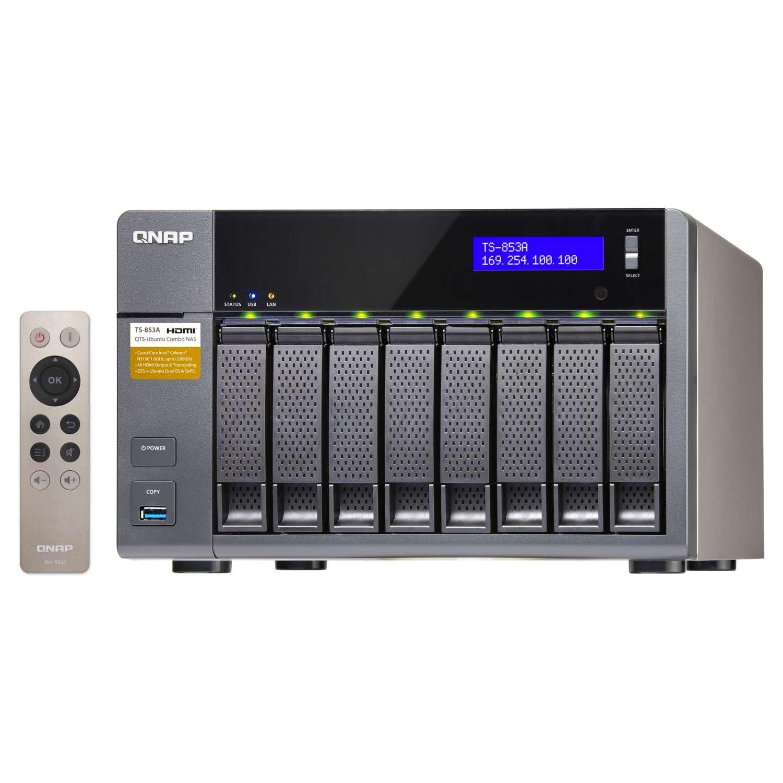 Qnap TS-853A-4G (TS-853A-4G) - Achat / Vente Serveur NAS sur Cybertek.fr - 0