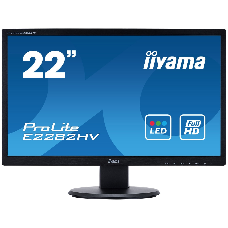 Iiyama E2282HV-B1 (E2282HV-B1) - Achat / Vente Ecran PC sur Cybertek.fr - 0
