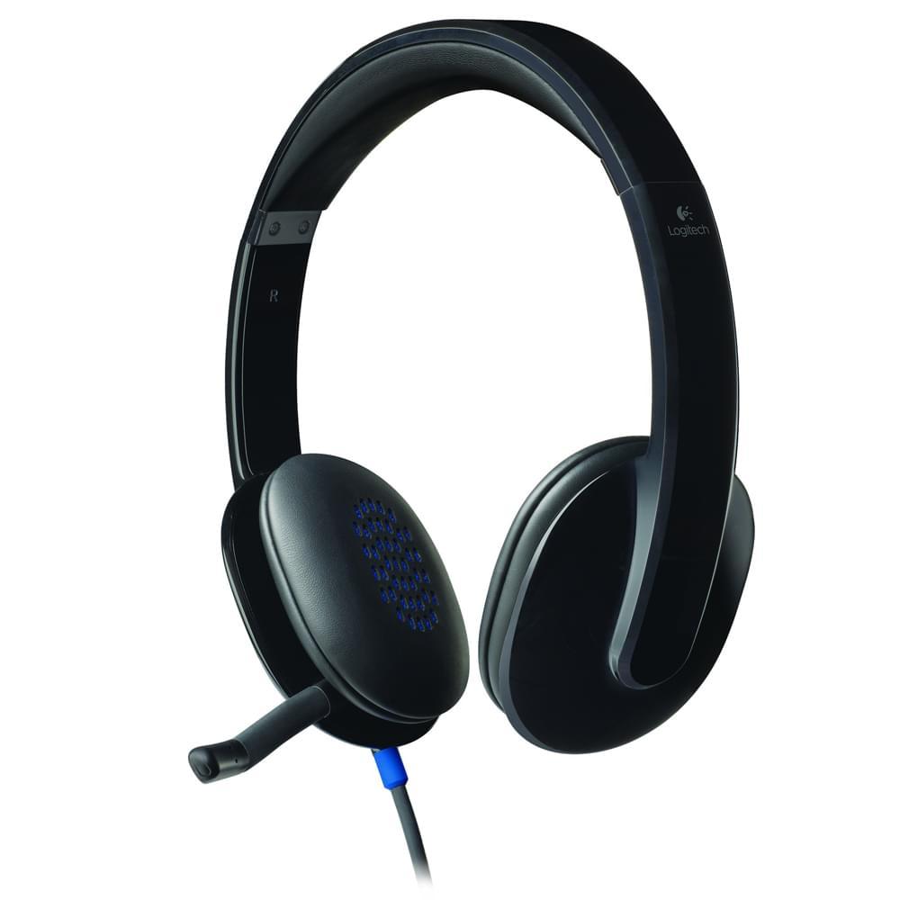 Logitech USB Headset H540 Stereo Noir - Micro-casque - Cybertek.fr - 0