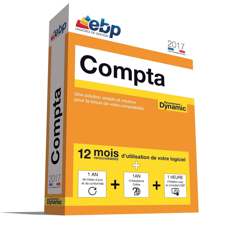 EBP Compta DYNAMIC 12 mois 2017 + VIP (1066E094FAA) - Achat / Vente Logiciel Application sur Cybertek.fr - 0