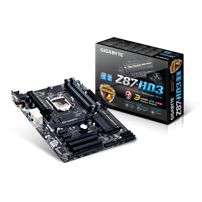 Gigabyte Z87-HD3 ATX DDR3 - Carte mère Gigabyte - Cybertek.fr - 0